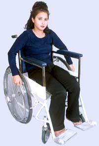 WHEEL CHAIR FOLDABLE